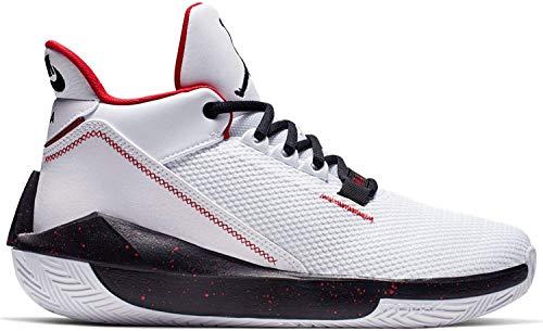 Nike Herren Jordan 2x3 Basketballschuh, White/Black-Gym RED