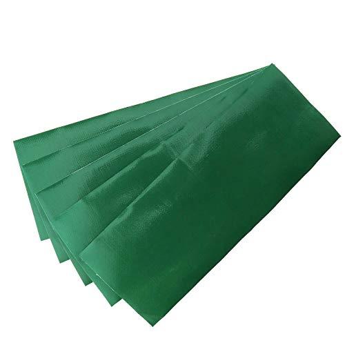 5stk Grün Reparatur-Patch Wasserdicht Klebstoff Repair Tape Leinwand Zelt/Markise Swag