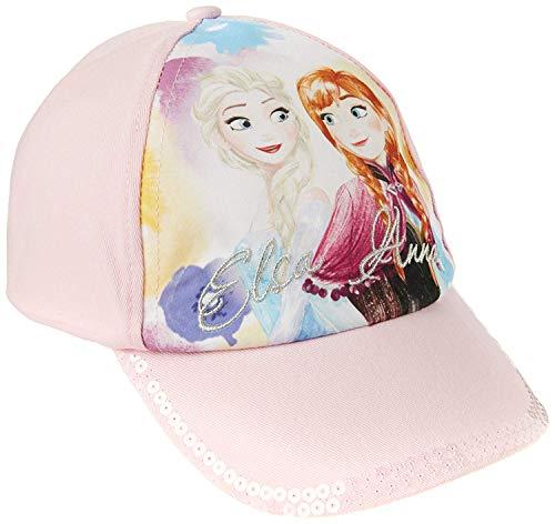Disney Frozen - Die Eiskönigin Mädchen Accessoires Set 2tlg. (Cap + Schal), Rosa, One size