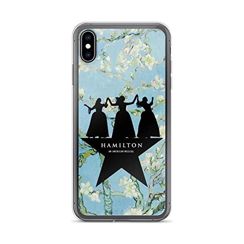 TeeTan Compatible with iPhone XR Case Hamilton Broadway Star Schuyler Sisters American Musical Pure Clear Phone Cases Cover