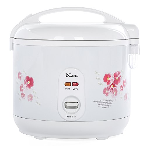 Narita Deluxe 10-Cup Uncooked (2-20 cup cooked) Rice Cooker