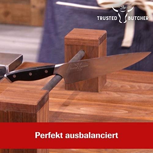 Mediashop Trusted Butcher Messer Set – hochwertiges Profi Kochmesser Set – ultrascharfe Klingen in Metzger-Qualität – inklusive Bratenthermometer – 4-TLG.   Versand Edition in neutraler Verpackung - 2