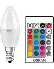 Osram LED CLB40 RGBW Remote 5,5W/827 E14 Uzaktan Kumandalı Led Lamba