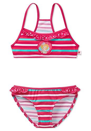 Schiesser - Bikini Mädchen gestreift Prinzessin Lillifee, fuchsia - 128508 fuchsia