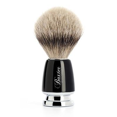 Baxter of California Silver Tip Badger Shave Brush, 1 unit