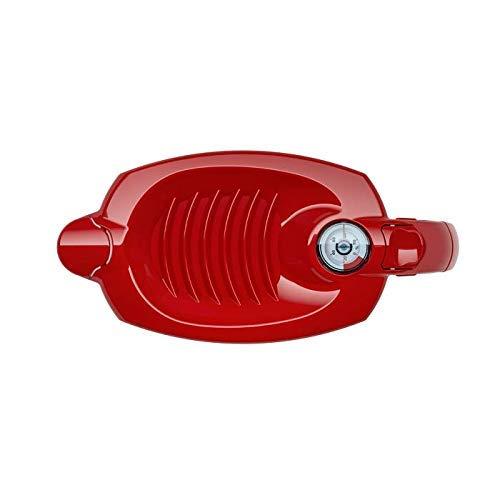 AQUAPHOR Filterkanne Amethyst, kirschrot Plus Kartusche B100-25 Maxfor