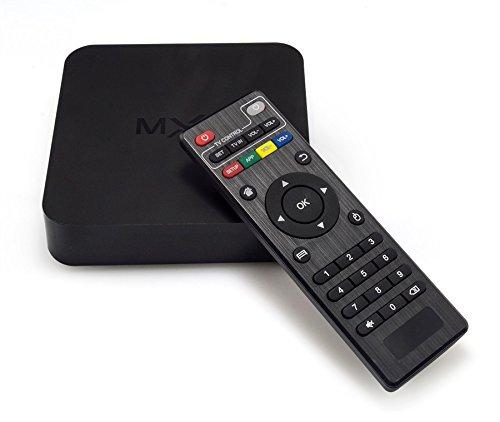 WITHTECH MXQ Android TV Box Amlogic Quad-Core 1G/8G 4K 64 bits Smart TV Box