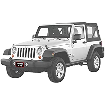 Big Mikes Performance Parts License Plate Frame Jeep Big Mike/'s Performance Parts