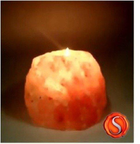 Zoutkristal zoutbrokken zoutlamp Himalaya zout theelicht licht 1-2 kg 1319