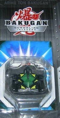 Bakugan Gundalian Invaders Season 3 Darkus (Black) Airkor 60g [New in Package]