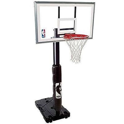 Spalding NBA 68395R 54in Polycarbonate Backboard Portable Basketball Hoop