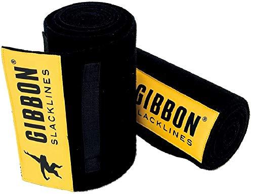 Gibbon Slacklines Tree Wear XL, Baumschutz, Schwarz Länge: 200 cm, Breite: 25 cm, Schutz für Band und Baum