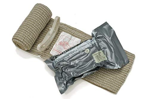 First Care Notfall-Bandage, Militär, 10 cm