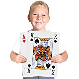 "Kangaroo's Huge, Jumbo Playing Cards (Giant 8-1/4"" x 11-3/4"" Deck of Cards)"