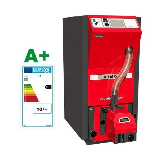 ATMOS Caldera de pellet tipo PX10-25 kW compacta de la serie de...