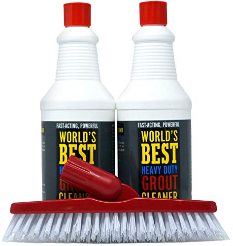 Worlds Best Heavy Duty Grout Cleaner