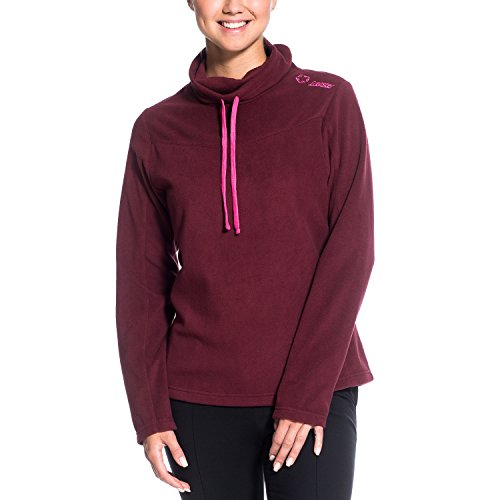 Gregster Damen Fleecejacke Bahira, Bordeaux, XL, 12512-046