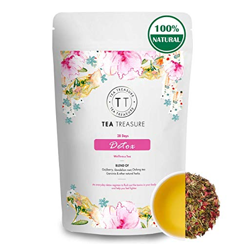 TeaTreasure 28 Days Detox with Garcinia Combogia and Oolong...