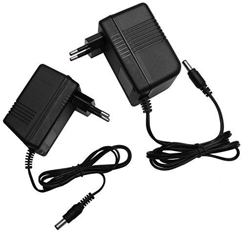 AC - AC 12V Steckernetzteil 5,5mm Hohlstecker Wechselspannung Netzteil Trafo (Ampere: 1A) (12V/1000mA)