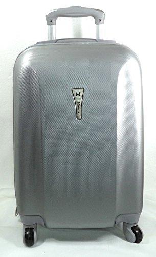 Koffer met harde schaal. Met 3-voudige telescopische handgreep met veiligheidssluiting. Verschillende kleuren.