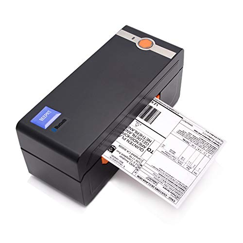 BEEPRT Thermal Label Printer 4x6 inch 100x150 mm USB & Bluetooth for Windows & Mac. Royal Mail Hermes Etsy eBay A Shipping Compatible with zebra dymo brother Labels 6x4 100mm desktop