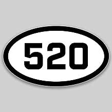 DHDM 520 Area Code Sticker Arizona Tucson Casa Adobes Casa Grande City Pride Love | 5-Inches by 3-Inches | Premium Quality Vinyl UV Resistant Laminate PD2056