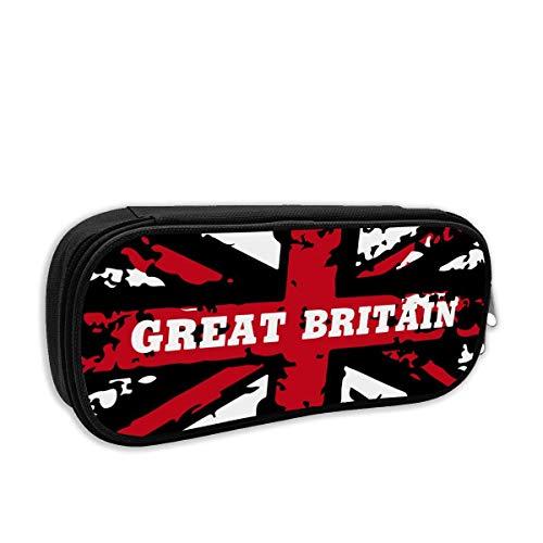 Gran Bretaña Reino Unido - Estuche para lápices con diseño de bandera de Reino Unido
