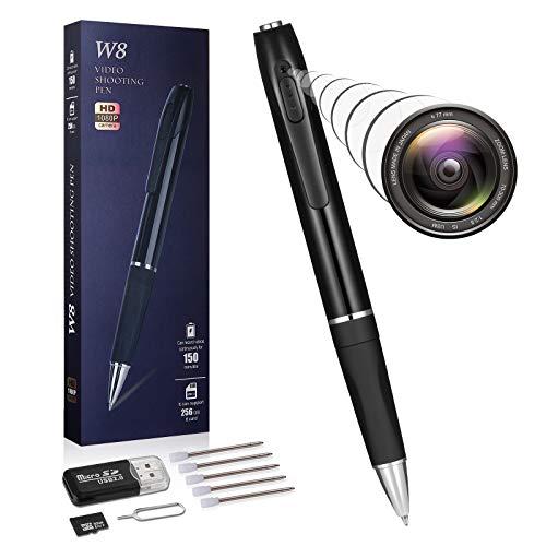 Spy Camera Mini Hidden Camera Pen HD 1080P Video Recorder