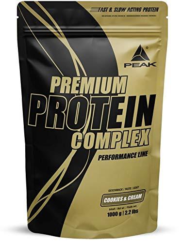 PEAK Premium Protein Complex Vanilla 1000g