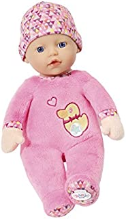 Baby Born 825310 First Love 30cm Soft Fabric Doll, Pink, 30 cm