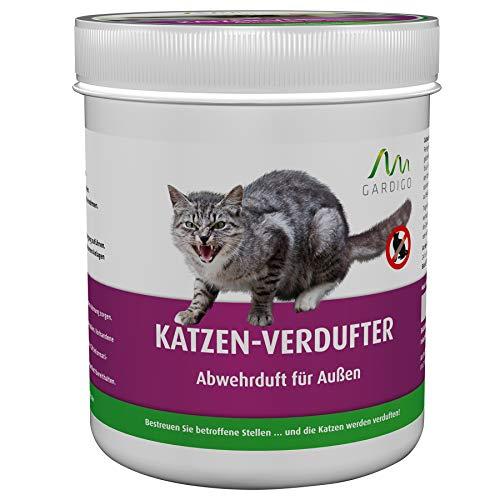 Gardigo Katzen-Verdufter 300 g Granulat, Katzen-Stopp, Katzenabwehr, Katzenschreck