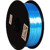 GEEETECH PLA filament 1.75mm Silk Sky blue, Imprimante 3D Filament PLA 1kg Spool