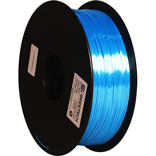 GEEETECH PLA Silk filament 1.75mm, Stampante 3D Filament PLA 1kg Spool (sky blue)