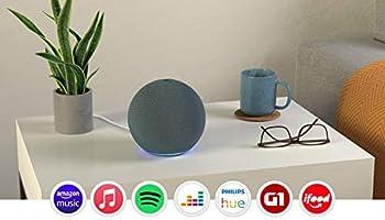 Novo Echo (4ª Geração): Com som premium, hub de casa inteligente e Alexa