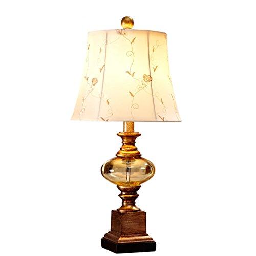 CCLLtyt Lampada da Comodino Americana Americana Creativa da Camera Lampada da Soggiorno Calda e Semplice da Soggiorno Reading Lamp