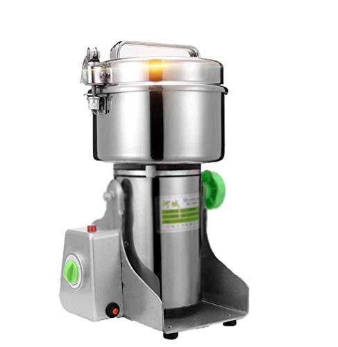 Molino de oscilación 500g de acero inoxidable de la medicina china amoladora eléctrica pequeña molienda y pulverización de la máquina se puede romper a través de cereales secundarios, accesorios medic