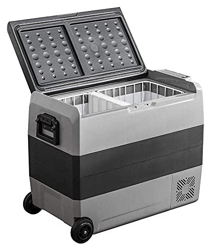 GZA 60L 12V 24V Coche portátil Refrigerador Camping al Aire Libre Refrigerador Refrigerador Hogar Oficina Capacidad Grande Refrigerador (Color : 50L)