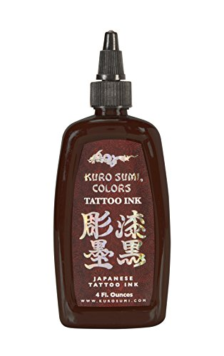 Kuro Sumi Tattoo Ink, Brown Belt, 4 Ounce