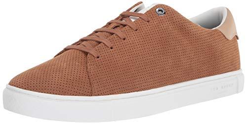 Ted Baker mens Ruenner Sneaker, Tan, 10.5 US