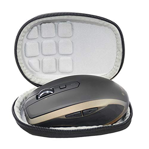 SANVSEN Duro Viaggio Caso Copertina per Logitech MX Anywhere 2S / 2/1 Mouse Wireless Bluetooth