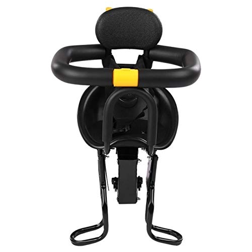 Affordable QFDYEQF128 Bicycle Seat for Child Cycling Front Safety Baby Seat Kids Saddle FIYRPKOO (Color : Black)