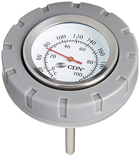 CDN Multi-Purpose Floating Waterproof Stainless Steel Thermometer, Custard Sauce