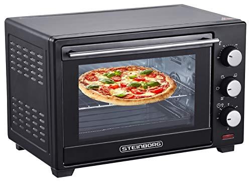 Steinborg 25 Liter Pizza-Ofen 3in1 mit Bild
