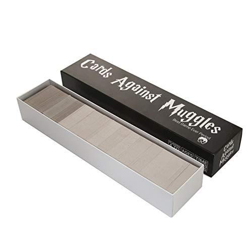 FEZBD Kartenbrettspiel, Karten Gegen Muggles NSFW Kartenspiel,Board Spiel Erweiterung Für Erwachsene Party Karten Spiel Quiz 1356 Stück