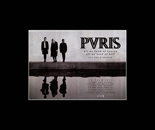 Stick It On Your Wall PVRIS - All We Know of Heaven All We Know of Hell 2017 Mini Poster - 254x30.3cm