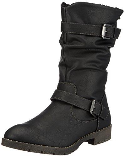 JANE KLAIN Damen 266 337 Biker Boots, Schwarz (Black), 39 EU