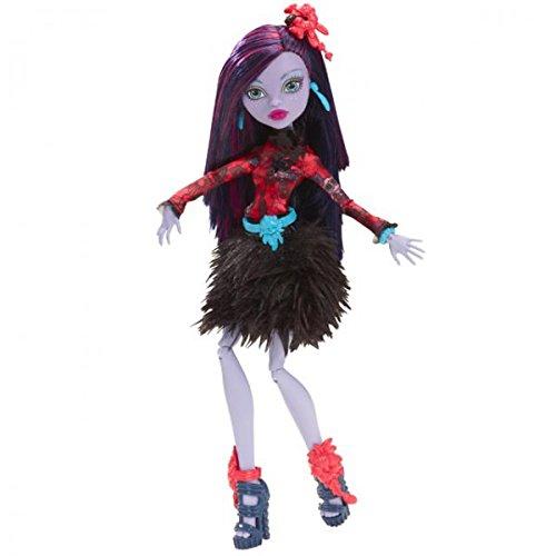 MATTEL CDC05 Monster High Finsternis & Blütenpracht Puppe Figur Puppen Mädchen, Modell / Charakter:Jane Boolittle