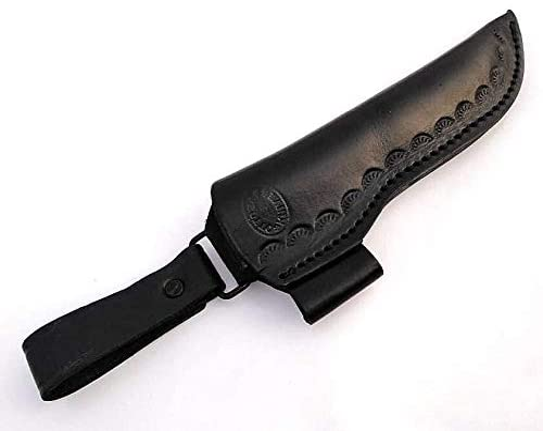 Ottoza Handmade Leather Knife Sheath Side mart Popular Bu Draw -