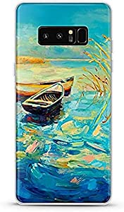 Ultra Thin Back Cover For Samsung Galaxy Note 8 - Multi Color