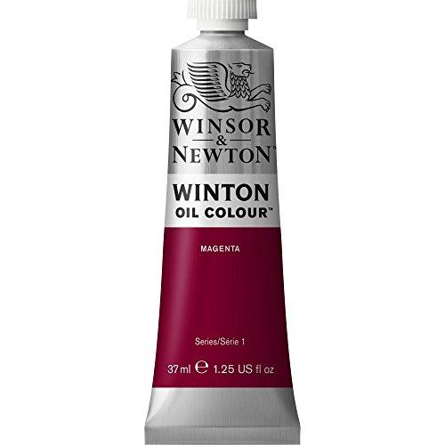 Winsor & Newton 1414380 Winton, feine hochwertige Ölfarbe - 37ml Tube mit gleichmäßiger Konsistenz, Lichtbeständig, hohe Deckkraft, Reich an Farbpigmenten - Magenta
